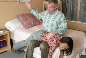 Real Spankings - Mr. Daniels Gives Janelle Some Discipline - image 4