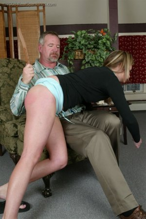 Real Spankings - Riley Strapped By Mr. Daniels - image 3