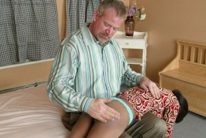 Real Spankings - Mr. Daniels Gives Janelle Some Discipline - image 18
