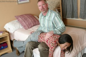 Real Spankings - Mr. Daniels Gives Janelle Some Discipline - image 13