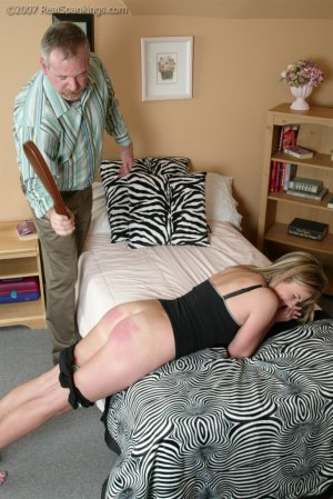 Real Spankings - Riley's Belting From Mr. Daniels - image 3