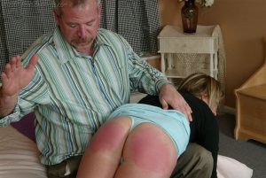 Real Spankings - Riley Recieves Discipline From Mr. Daniels - image 6