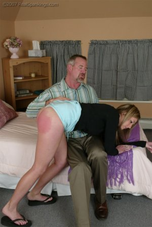 Real Spankings - Riley Recieves Discipline From Mr. Daniels - image 8