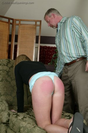Real Spankings - Riley Strapped By Mr. Daniels - image 8