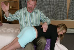 Real Spankings - Riley Recieves Discipline From Mr. Daniels - image 4