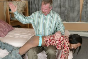Real Spankings - Mr. Daniels Gives Janelle Some Discipline - image 15