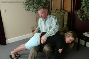 Real Spankings - Riley Strapped By Mr. Daniels - image 5
