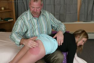Real Spankings - Riley Recieves Discipline From Mr. Daniels - image 2