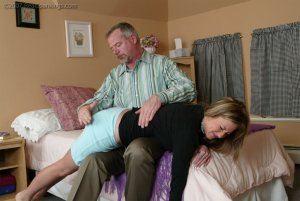 Real Spankings - Riley Recieves Discipline From Mr. Daniels - image 1