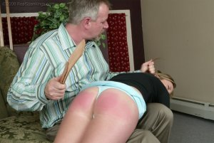 Real Spankings - Riley Strapped By Mr. Daniels - image 7