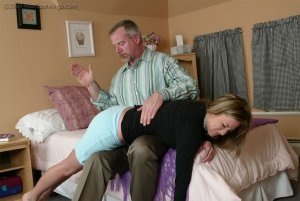 Real Spankings - Riley Recieves Discipline From Mr. Daniels - image 7