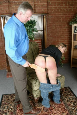 Real Spankings - Mr. Daniels Helps Cindy - image 17