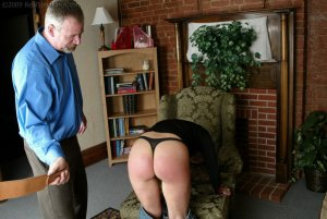 Real Spankings - Mr. Daniels Helps Cindy - image 8