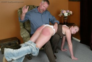 Real Spankings - Brooke Embarasses Mr. Daniels At The Movies - image 6
