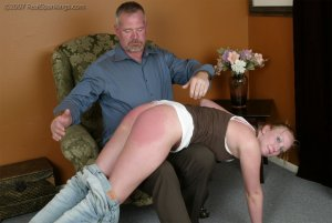Real Spankings - Brooke Embarasses Mr. Daniels At The Movies - image 7