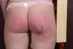 Real Spankings - Bare School Swats: Brooke - image 1