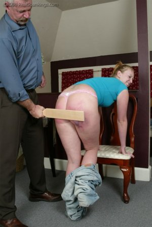 Real Spankings - Bare School Swats: Brooke - image 4
