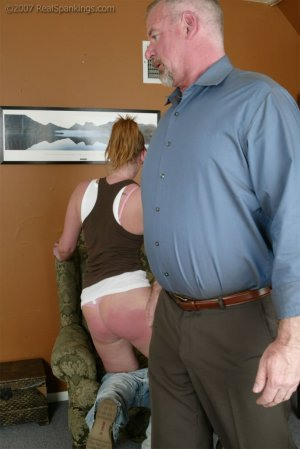 Real Spankings - Brooke Embarasses Mr. Daniels At The Movies - image 1