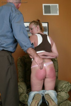 Real Spankings - Brooke Embarasses Mr. Daniels At The Movies - image 3