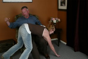 Real Spankings - Brooke Embarasses Mr. Daniels At The Movies - image 4