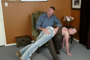 Real Spankings - Brooke Embarasses Mr. Daniels At The Movies - image 8