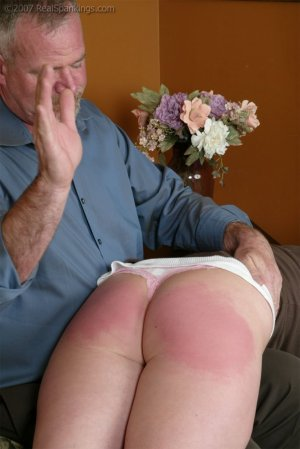 Real Spankings - Brooke Embarasses Mr. Daniels At The Movies - image 2