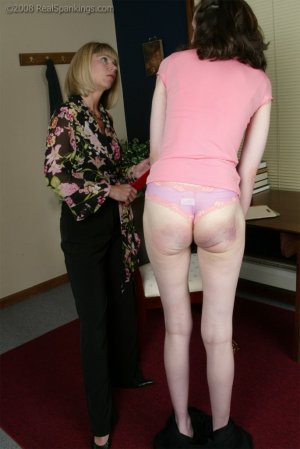 Real Spankings - Helen's Confrontation With Ms. Burns - image 2