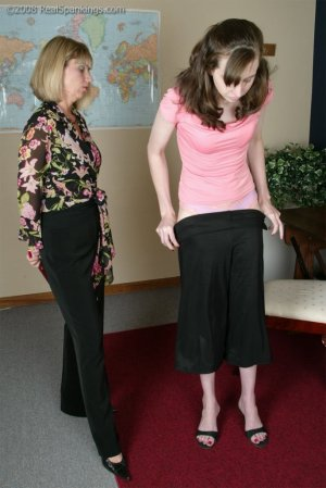 Real Spankings - Helen's Confrontation With Ms. Burns - image 4