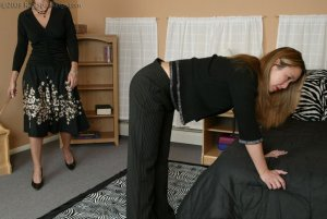 Real Spankings - Cindy's Morning Spanking - Part 1 - image 1