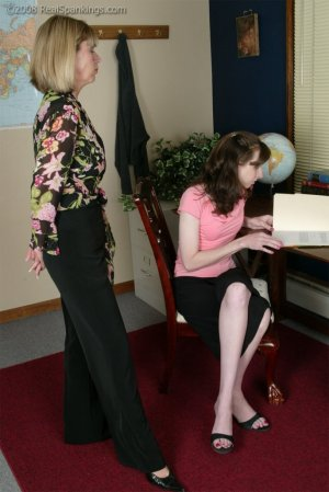 Real Spankings - Helen's Confrontation With Ms. Burns - image 12