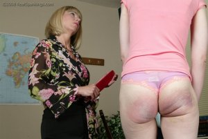 Real Spankings - Helen's Confrontation With Ms. Burns - image 11