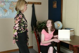 Real Spankings - Helen's Confrontation With Ms. Burns - image 17