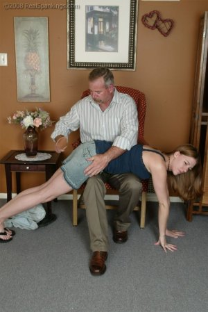 Real Spankings - A Bad Shopping Trip - Part 2 - image 2