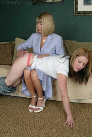 Real Spankings - Claire's Report Card - image 1