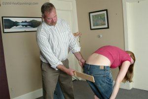 Real Spankings - Brooke And Monica Paddled Together - Part 2 - image 6