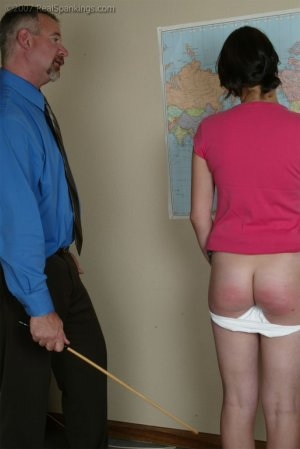 Real Spankings - A Geography Lesson From Mr. Daniels - image 1