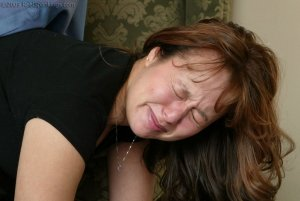 Real Spankings - A Spanking Before Dinner - image 1