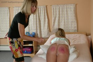 Real Spankings - Riley Is Disciplined In The Bedroom - image 17