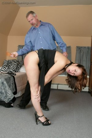Real Spankings - Spanked Before Going To A Party - image 9