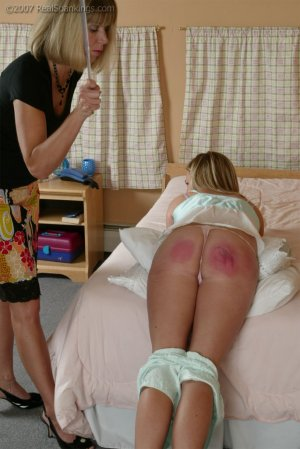Real Spankings - Riley Is Disciplined In The Bedroom - image 16
