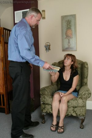 Real Spankings - A Spanking Before Dinner - image 15