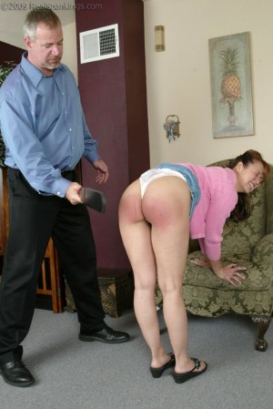 Real Spankings - Cindy's Birthday Spanking - image 1