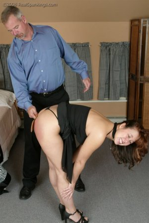 Real Spankings - Spanked Before Going To A Party - image 16