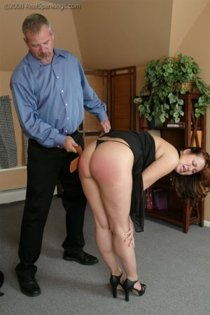 Real Spankings - Spanked Before Going To A Party - image 4