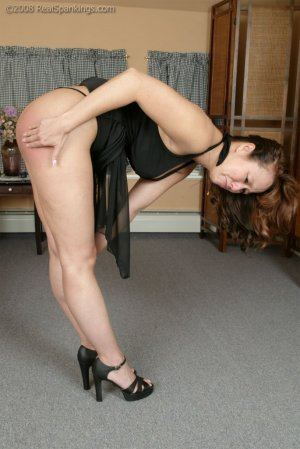 Real Spankings - Spanked Before Going To A Party - image 2