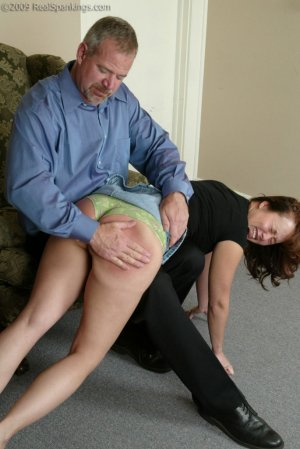 Real Spankings - A Spanking Before Dinner - image 18