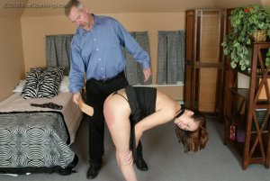 Real Spankings - Spanked Before Going To A Party - image 8