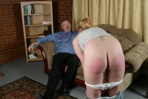 Real Spankings - Brooke Tries To Go Out When She Is Grounded - image 2