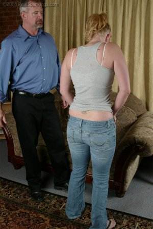 Real Spankings - Brooke Tries To Go Out When She Is Grounded - image 9