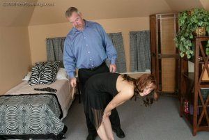 Real Spankings - Spanked Before Going To A Party - image 11